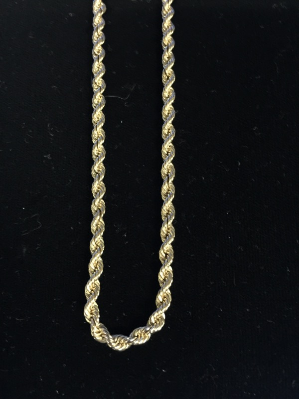 Gold Chain 14K Yellow Gold 25.6g