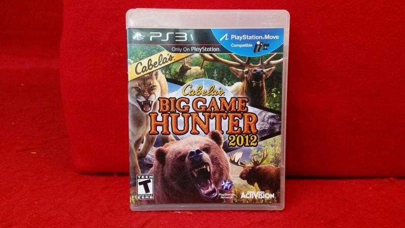 Cabela's Big Game Hunter 2012 (Sony PlayStation 3, 2011)