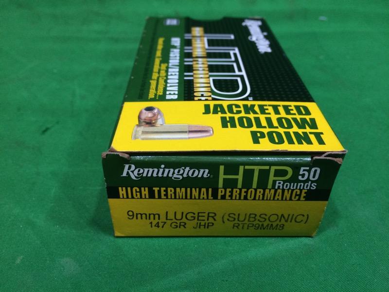REMINGTON FIREARMS & AMMUNITION Ammunition HTP 9MM LUGER