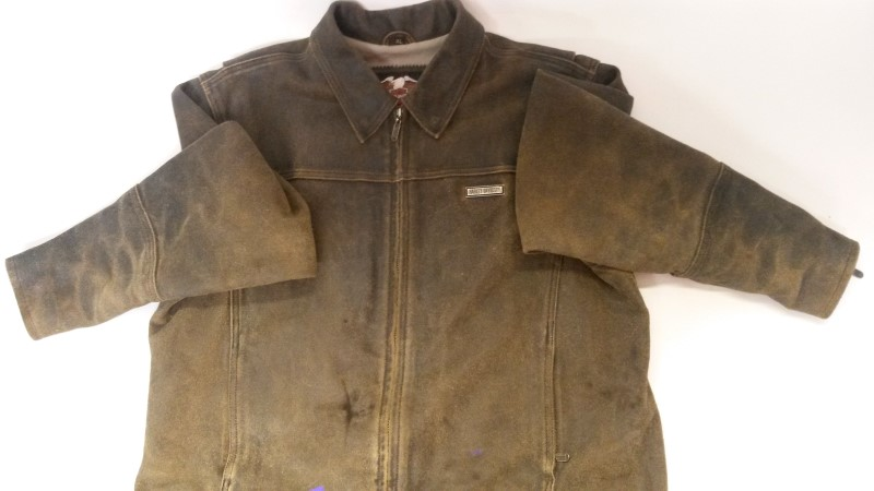 HARLEY DAVIDSON Coat/Jacket DISTRESSED BILLINGS LEATHER JACKET