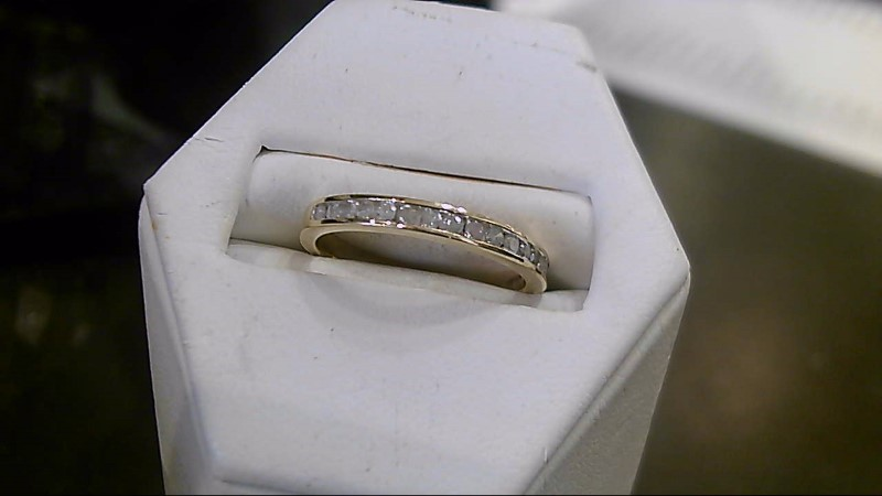 Lady's Diamond Wedding Band 16 Diamonds .16 Carat T.W. 10K Yellow Gold 2g