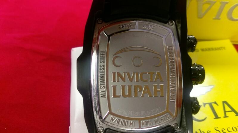 INVICTA GNT'S WRISTWATCH MODEL LUPAH 6724