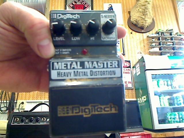 DIGITECH Effect Equipment METAL MASTER HEAVY METAL DISTORTION