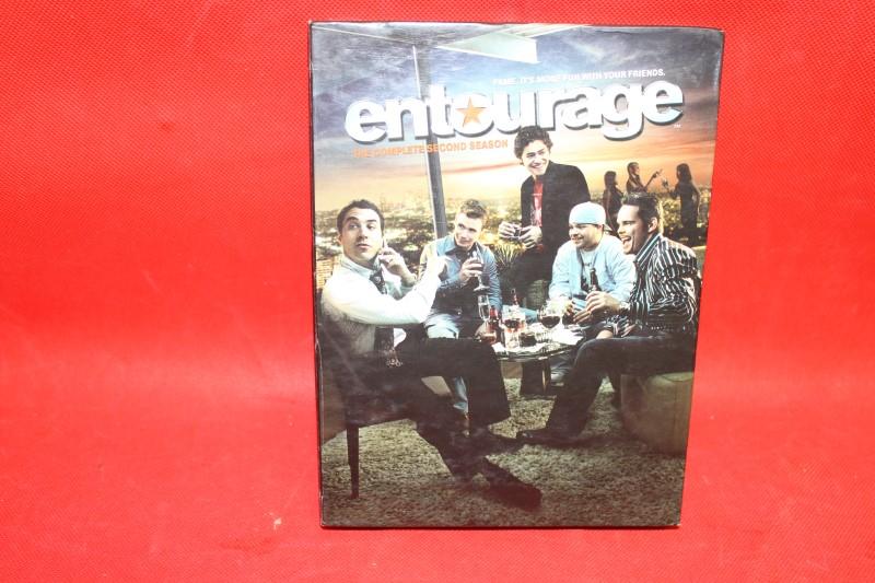 Entourage: The Complete Second Season (DVD, TV-MA, 2006, 3-Disc Set) HBO SERIES