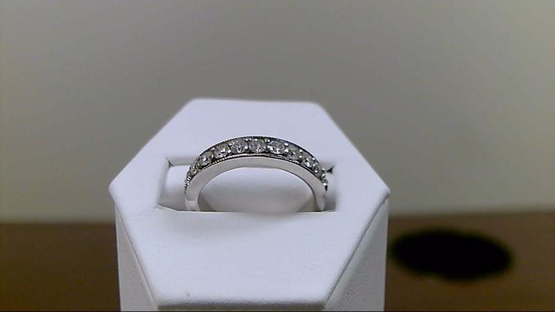 Lady's Gold-Diamond Anniversary Ring 1/2cttw 14K White Gold