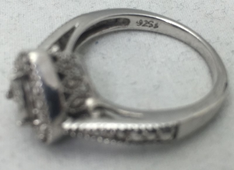 Lady's Sterling Silver Heart Ring