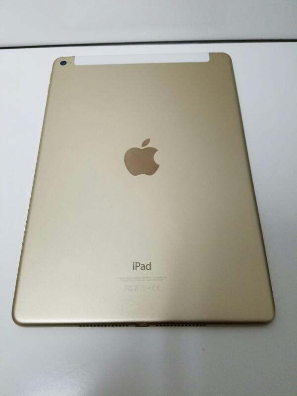 "Apple Ipad Air 2 MH232LL/A 9.7"" Gold Wifi ONLY 16GB Tablet"