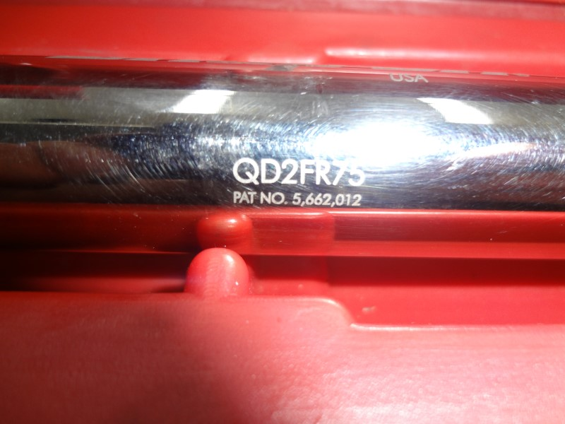 SNAP ON TORQUE WRENCH QD2FR75