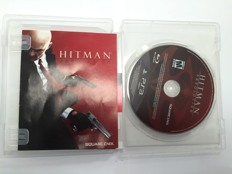 SONY PLAYSTATION-3, HITMAN ABSOLUTION, GOOD CONDITION