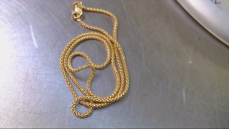 Gold Snake Chain 22K Yellow Gold 5.9g
