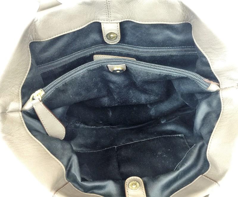 COACH F15513 ASHLEY CARRYALL METALLIC SHOULDER BAG