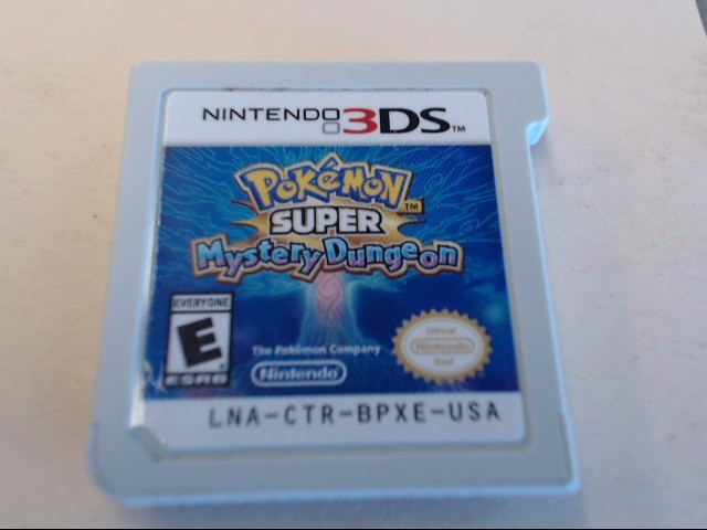 NINTENDO Nintendo 3DS Game POKEMON SUPER MYSTERY DUNGEON