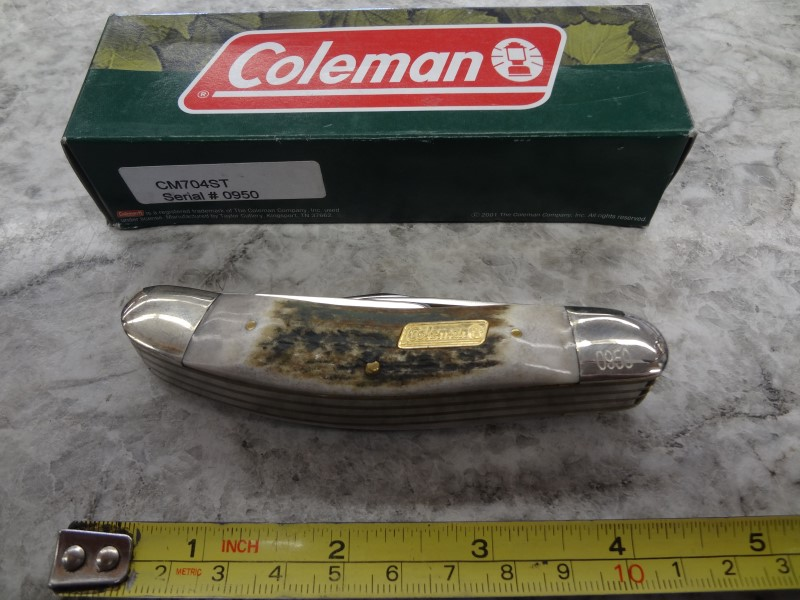 COLEMAN POCKET KNIFE, LIMITED ED