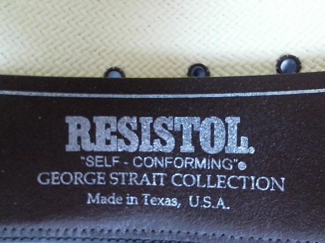 RESISTOL Hat GEORGE STRAIT DESIGN