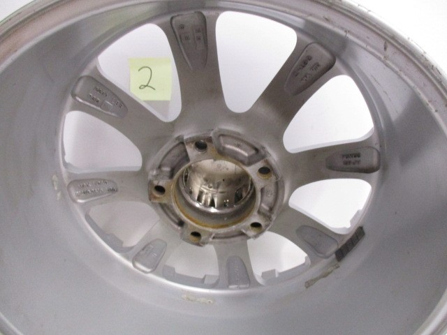 4 USED 20X9 25 OFFSET 5-150 MB CHAOS SILVER WHEELS/RIMS 20""