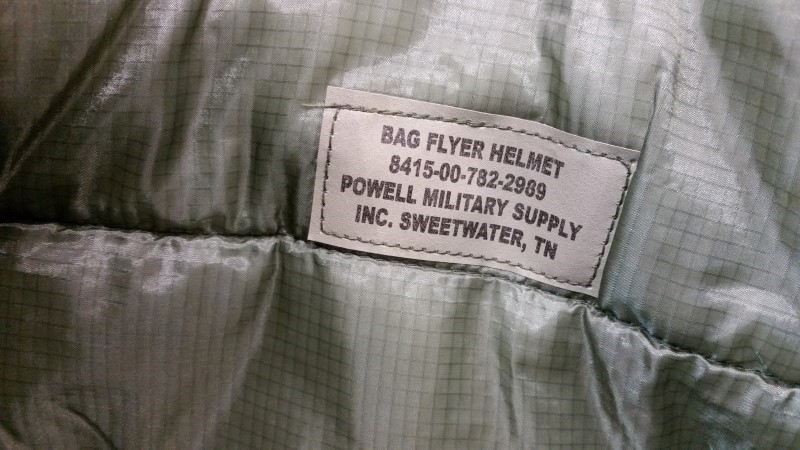 USMC Digital Camo Pilots Flyers Helmet Bag - Powell Military Supply