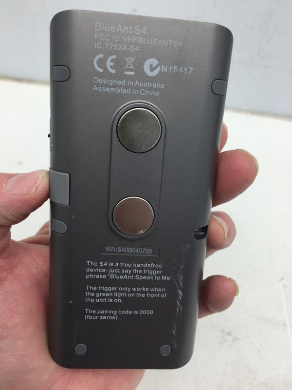 BLUEANT Parts & Accessory S4 CAR SPEAKER