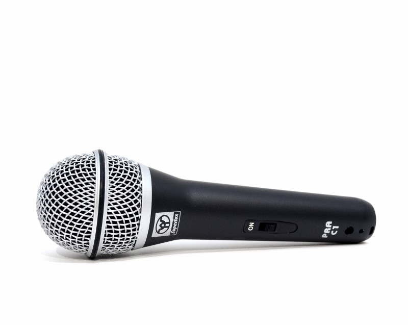 Superlux PRA-C1 Dynamic Unidirectional Cardioid Microphone and Cord>