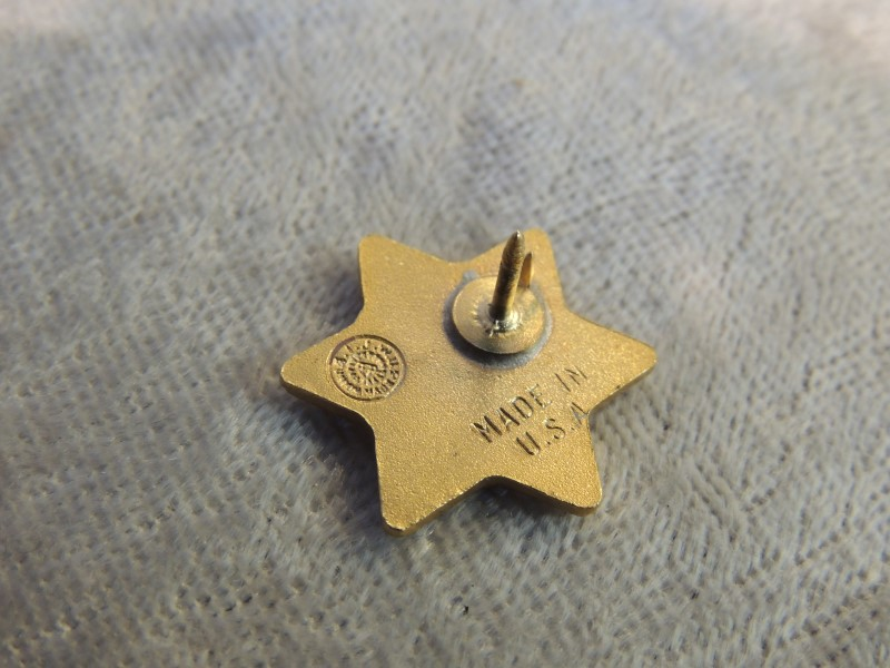 CHICAGO POLICE ASSOCIATION PIN RETIRED