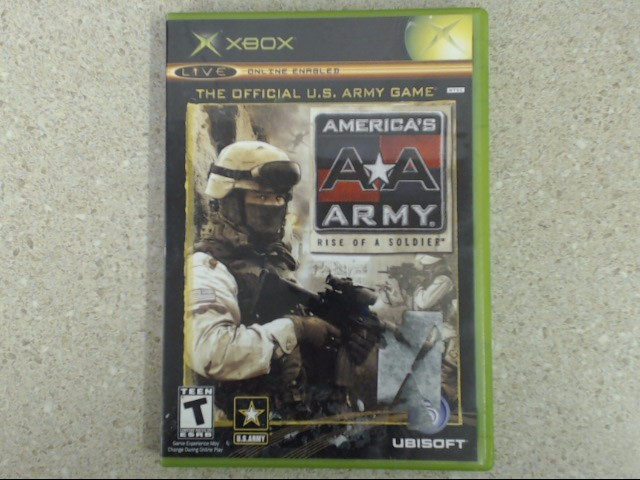 America's Army: Rise of a Soldier (Microsoft Xbox, 2005)