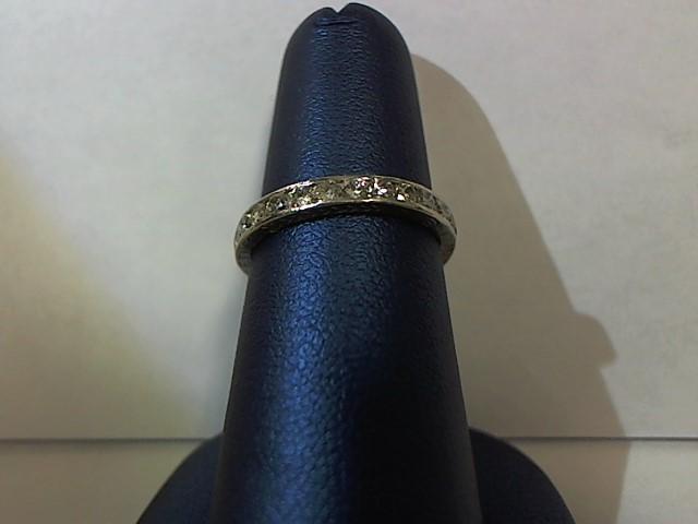 Lady's Gold-Diamond Anniversary Ring 30 Diamonds .60 Carat T.W. 14K Yellow Gold
