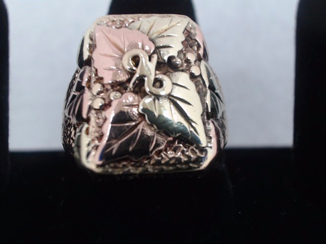 Gent's Gold Ring 10K Yellow Gold 11.3g