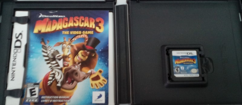 NINTENDO DS GAME MADAGASCAR 3 THE VIDEO GAME