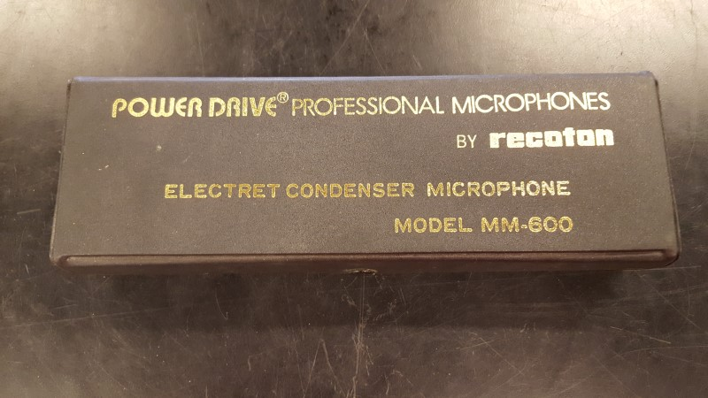 RECOTON Microphone MM-600