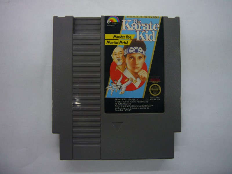 NINTENDO NES Game THE KARATE KID *CARTRIDGE ONLY*