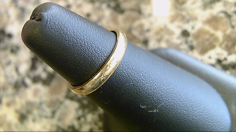 Lady's Gold Ring 14K Yellow Gold 1.7g Size:5.5