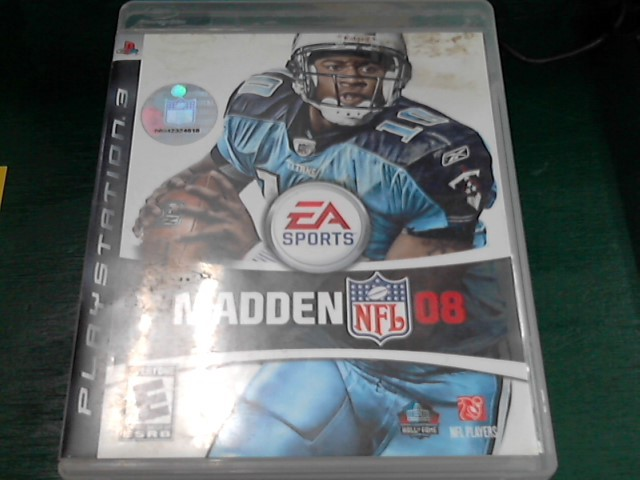 SONY Sony PlayStation 3 Game MADDEN NFL 2008 - PS3