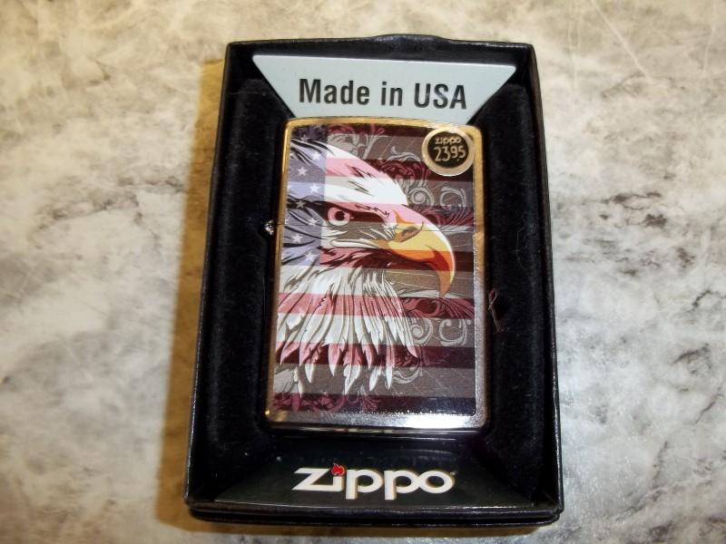 ZIPPO EAGLE FLAG LIGHTER