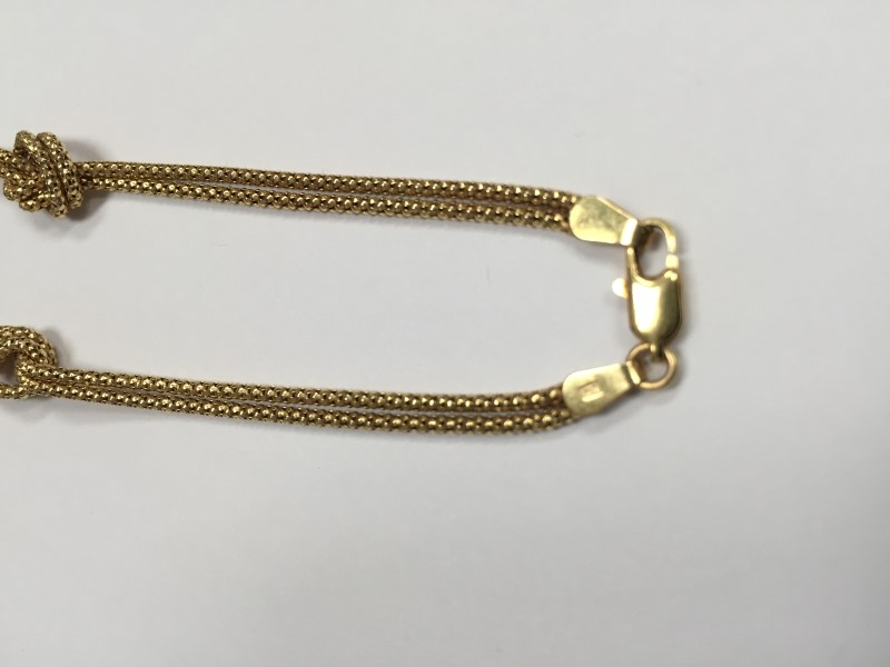 """16"""" Gold Rope Chain 14K Yellow Gold 11.5g"""