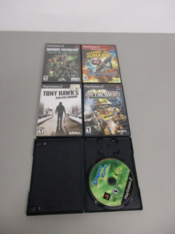 LOT OF 5 SONY PS2 GAMES
