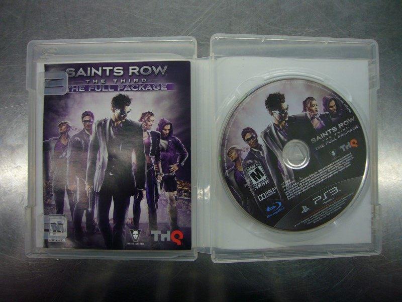 SONY PlayStation 3 Game SAINTS ROW THE THIRD THE FULL PACKAGE