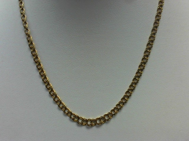 Gold Link Chain 18K Yellow Gold 11.3g