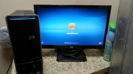 HEWLETT PACKARD PC Desktop PAVILION SLIMLINE 400