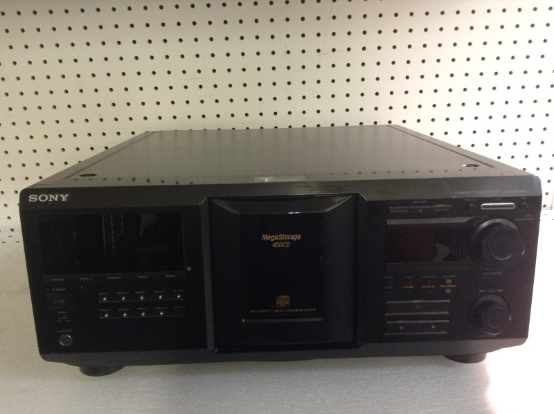 SONY CD Player & Recorder CDP-CX400