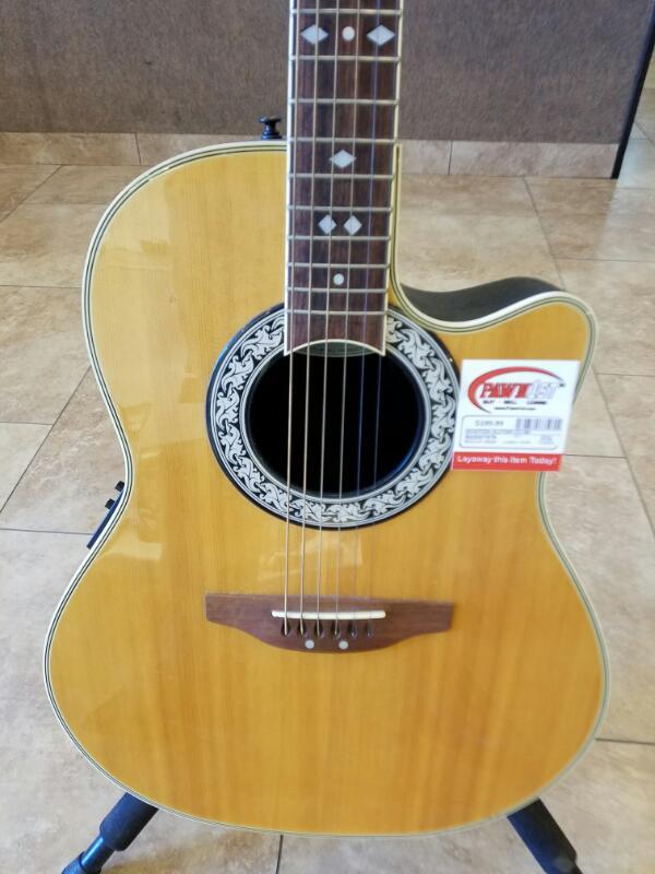 OVATION Acoustic Guitar CC-68