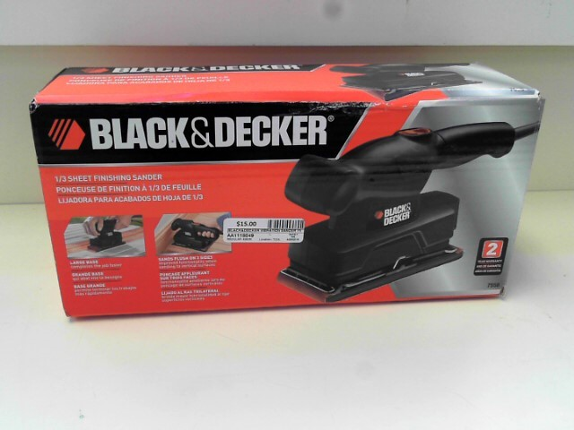 BLACK&DECKER Vibration Sander 7558