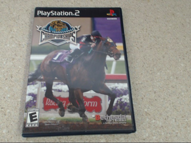BREEDERS' CUP WORLD THOROUGHBRED CHAMPIONSHIPS - PLAYSTATION 2 GAME