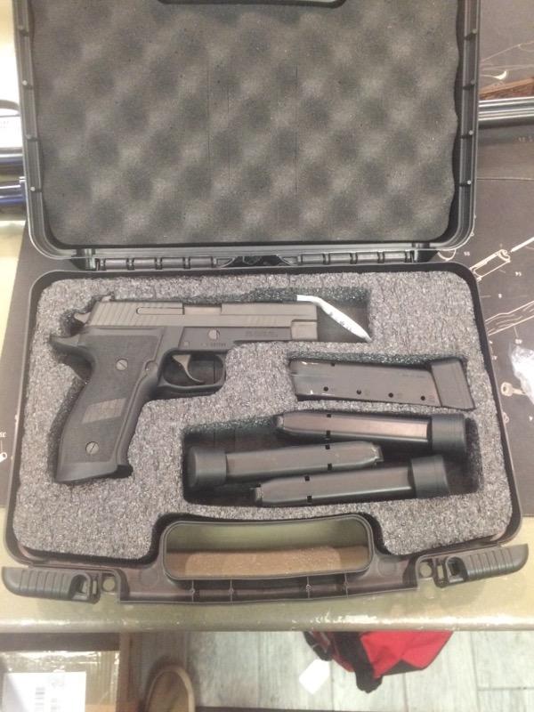 SIG SAUER Pistol E26R-9-TACOPS