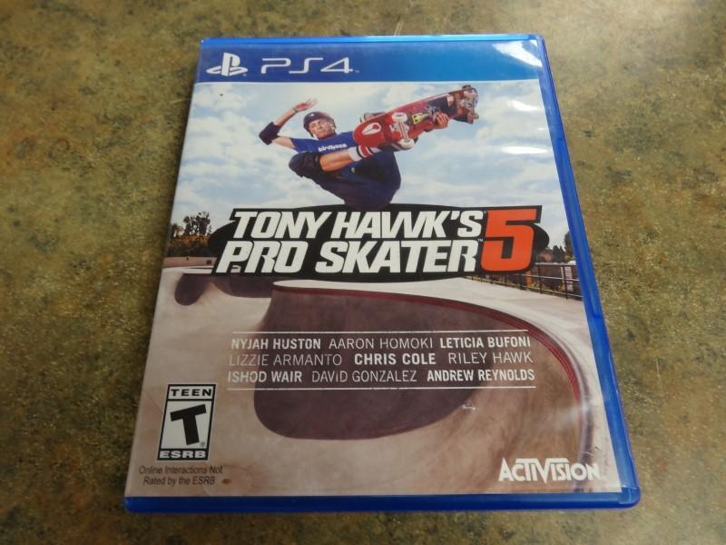 SONY Sony PlayStation 4 Game TONY HAWK'S PRO SKATER 5