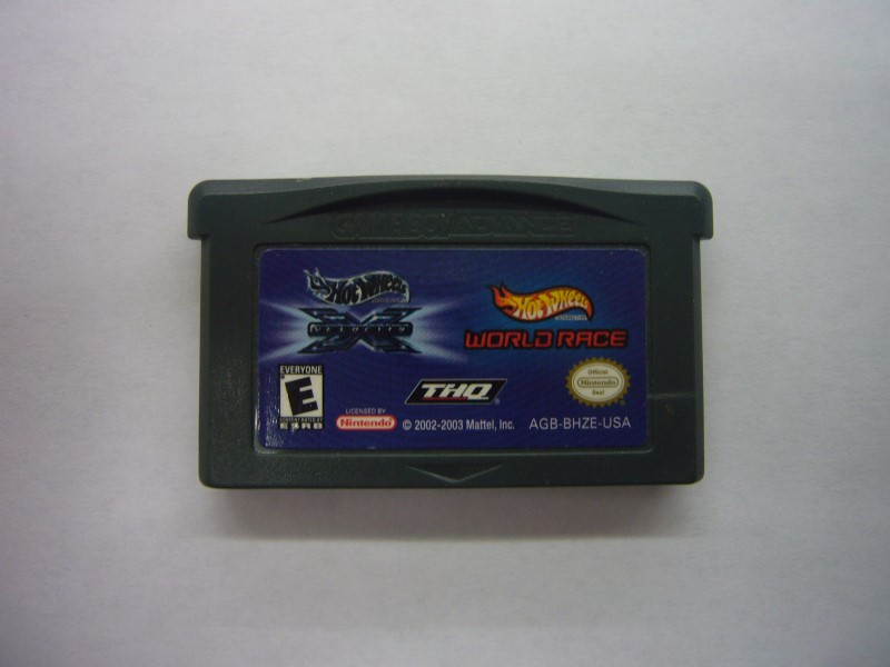 NINTENDO GBA Game HOT WHEELS VELOCITY X WORLD RACE *CARTRIDGE ONLY*