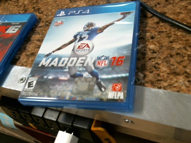 SONY Sony PlayStation 4 Game PS4 MADDEN16