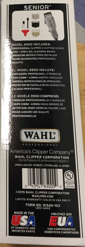 WAHL Hair Care/Styling SENIOR 8500