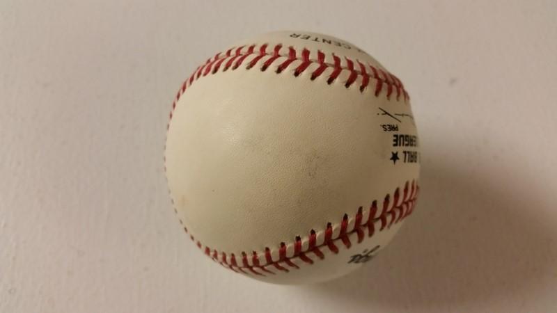 Joe Morgan Autographed Rawlings National League Baseball w/ COA
