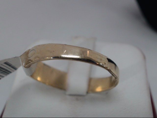 Gent's Gold Wedding Band 10K Yellow Gold 3.7g
