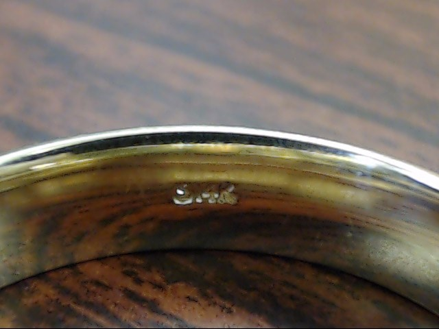 ESTATE CLASSIC PLAIN WED RING BAND SOLID REAL 14K GOLD MEN 5MM SZ 11