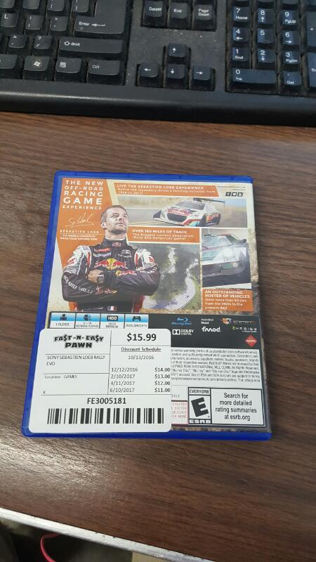 Sebastien Loeb Rally EVO: Day One Edition (Sony PlayStation 4, PS4)